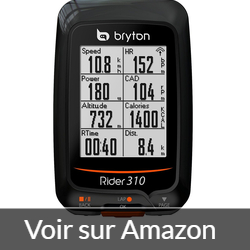Bryton Rider 310T - velo d gps