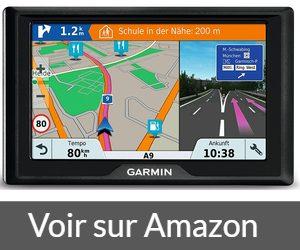 Garmin Drive 51 Full EU - Cartes, Trafic, Zones de Danger à Vie